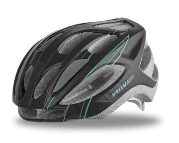 Specialized Womens Sierra Road Helm | Black-Emerald Arc