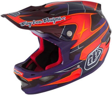 Troy Lee Designs D3 MIPS Carbon Render Fahrradhelm