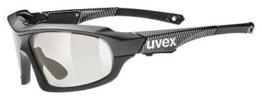 Uvex Variotronic FF Fahrrad Brille schwarz/carbon