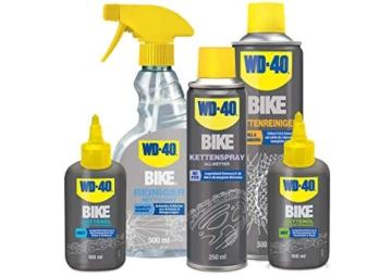 WD-40 Bike Kettenspray Allwetter 250 ml, transparent, 49703 -