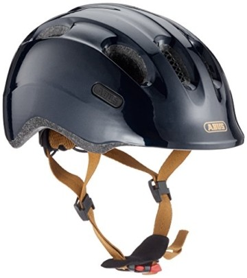 Abus Smiley 2.0, Unisex kinder Fahrradhelm,Schwarz (royal black), S (45-50 cm) - 1
