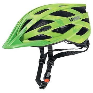 UVEX Erwachsene Fahrradhelm I-VO CC, grün (Grün (Green-Lemon Mat)), 52-57 cm - 1