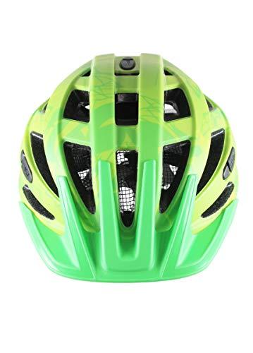 UVEX Erwachsene Fahrradhelm I-VO CC, grün (Grün (Green-Lemon Mat)), 52-57 cm - 2