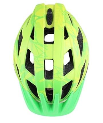 UVEX Erwachsene Fahrradhelm I-VO CC, grün (Grün (Green-Lemon Mat)), 52-57 cm - 3