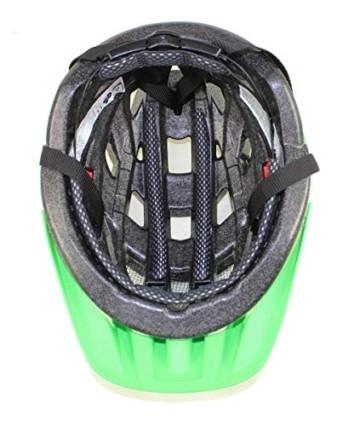 UVEX Erwachsene Fahrradhelm I-VO CC, grün (Grün (Green-Lemon Mat)), 52-57 cm - 4