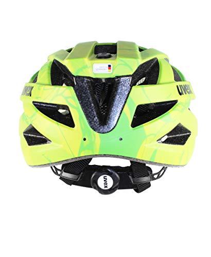 UVEX Erwachsene Fahrradhelm I-VO CC, grün (Grün (Green-Lemon Mat)), 52-57 cm - 5