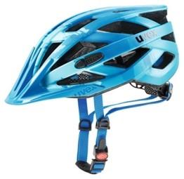 Uvex Erwachsene I-VO CC Fahrradhelm, lightblue-blue mat, 56-60 cm - 1