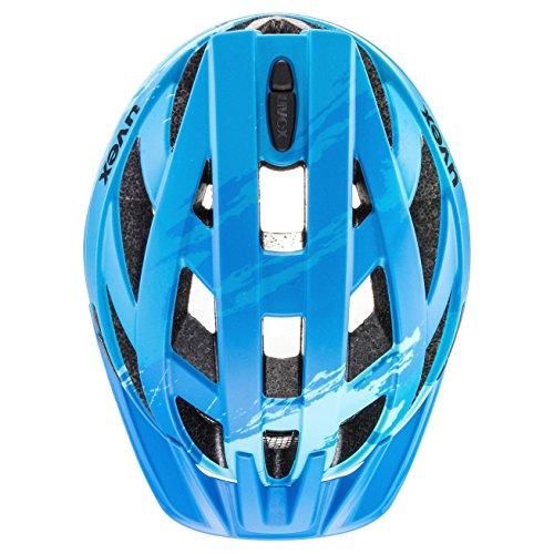Uvex Erwachsene I-VO CC Fahrradhelm, lightblue-blue mat, 56-60 cm - 2