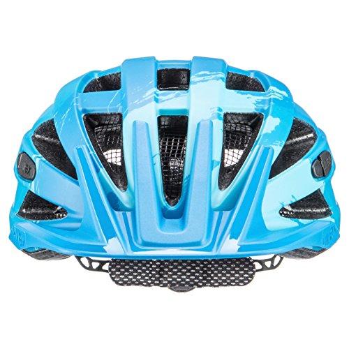 Uvex Erwachsene I-VO CC Fahrradhelm, lightblue-blue mat, 56-60 cm - 3