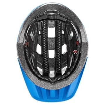 Uvex Erwachsene I-VO CC Fahrradhelm, lightblue-blue mat, 56-60 cm - 4