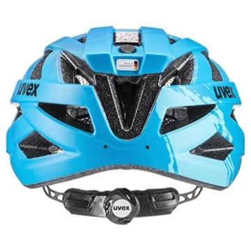 Uvex Erwachsene I-VO CC Fahrradhelm, lightblue-blue mat, 56-60 cm - 5