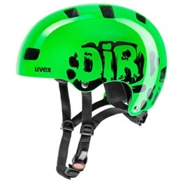 Uvex Kinder Fahrradhelm Kid 3, Grün (Dirtbike Green), 55-58 cm - 1