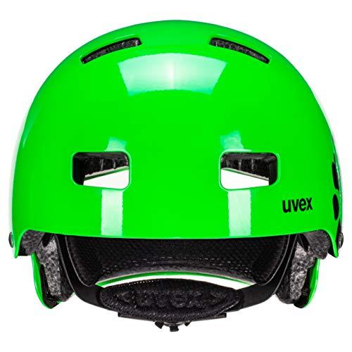 Uvex Kinder Fahrradhelm Kid 3, Grün (Dirtbike Green), 55-58 cm - 6