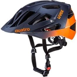 Uvex Quatro Fahrradhelm blau 52-57 - 1