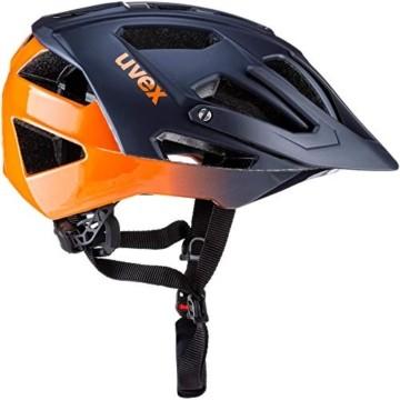 Uvex Quatro Fahrradhelm blau 52-57 - 2