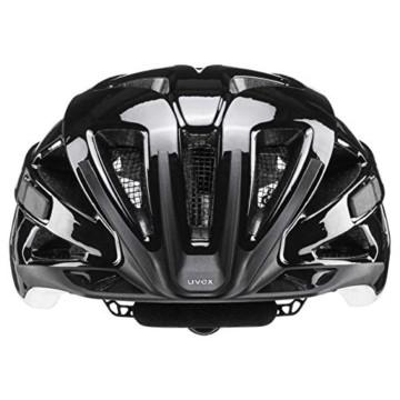 Uvex Unisex– Erwachsene Active Fahrradhelm, Black White, 52-57 cm - 2