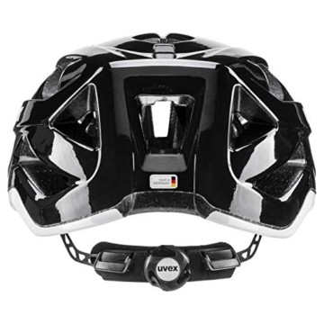 Uvex Unisex– Erwachsene Active Fahrradhelm, Black White, 52-57 cm - 3