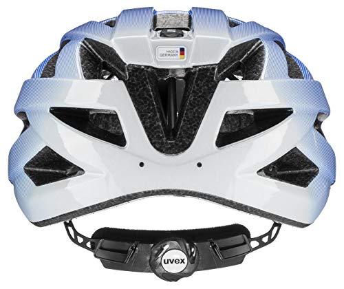 uvex Unisex– Erwachsene air Wing Fahrradhelm, cobalt - white, 56-60 cm - 2