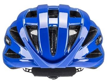 uvex Unisex– Erwachsene air Wing Fahrradhelm, cobalt - white, 56-60 cm - 3