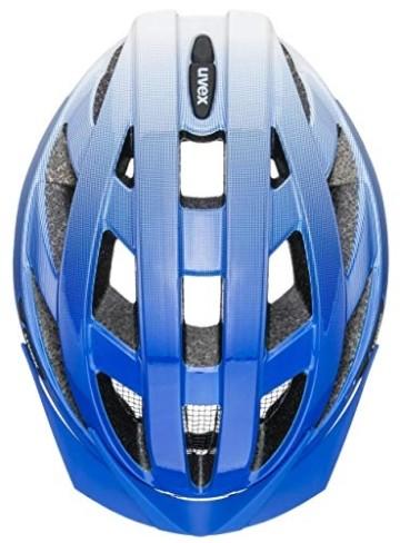 uvex Unisex– Erwachsene air Wing Fahrradhelm, cobalt - white, 56-60 cm - 4