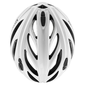 Uvex Unisex– Erwachsene, boss race Fahrradhelm, white, 52-56 cm - 2