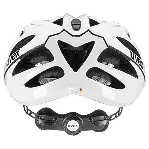Uvex Unisex– Erwachsene, boss race Fahrradhelm, white, 52-56 cm - 5