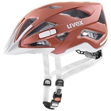 Uvex Unisex– Erwachsene, city active Fahrradhelm, goji mat, 56-60 cm - 1