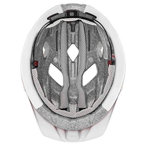 Uvex Unisex– Erwachsene, city active Fahrradhelm, goji mat, 56-60 cm - 3