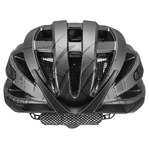 Uvex Unisex– Erwachsene, city i-vo Fahrradhelm, dark silver mat, 52-57 cm - 4
