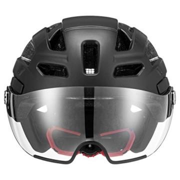 Uvex Unisex– Erwachsene, finale visor Fahrradhelm, black mat, 56-61 cm - 2