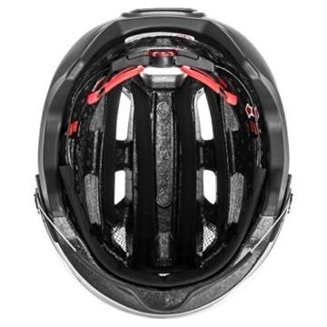 Uvex Unisex– Erwachsene, finale visor Fahrradhelm, black mat, 56-61 cm - 5