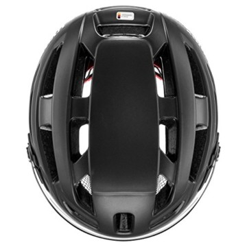 Uvex Unisex– Erwachsene, finale visor Fahrradhelm, black mat, 56-61 cm - 8