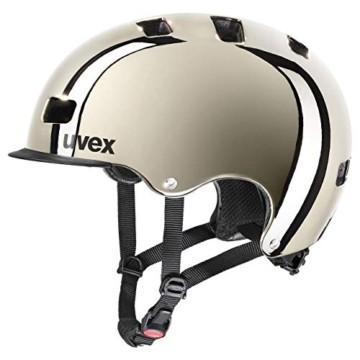 Uvex Unisex– Erwachsene, hlmt 5 bike pro chrome Fahrradhelm, chrome, 58-61 cm - 1