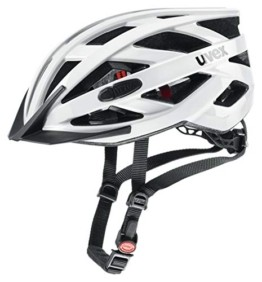 Uvex Unisex– Erwachsene, i-vo 3D Fahrradhelm, white, 52-57 cm - 1
