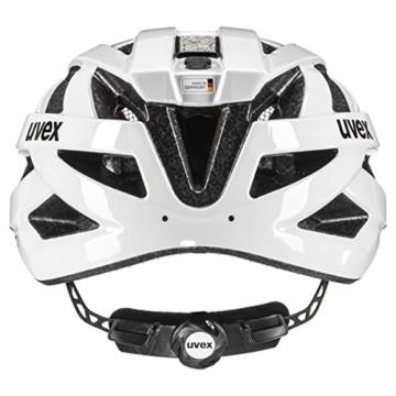Uvex Unisex– Erwachsene, i-vo 3D Fahrradhelm, white, 52-57 cm - 6