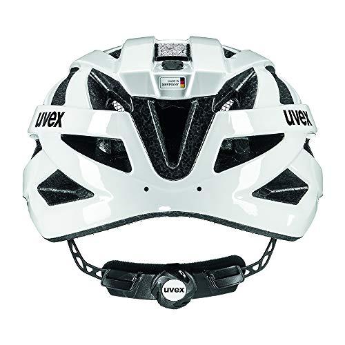 Uvex Unisex– Erwachsene, i-vo 3D Fahrradhelm, white, 52-57 cm - 7