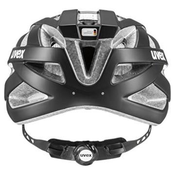 Uvex Unisex– Erwachsene, i-vo cc Fahrradhelm, black mat, 56-60 cm - 4