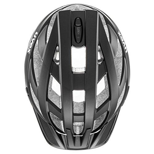 Uvex Unisex– Erwachsene, i-vo cc Fahrradhelm, black mat, 56-60 cm - 7