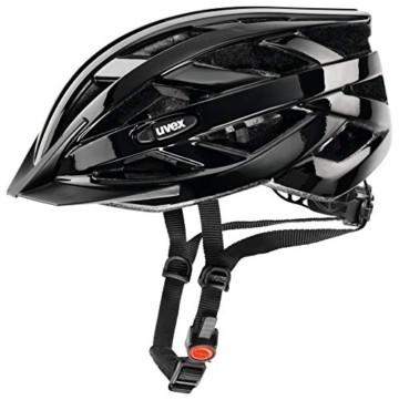 Uvex Unisex– Erwachsene, i-vo Fahrradhelm, black, 56-60 cm - 1