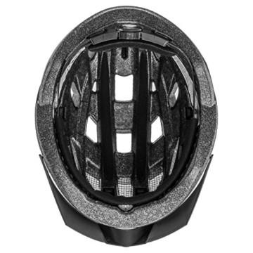 Uvex Unisex– Erwachsene, i-vo Fahrradhelm, black, 56-60 cm - 6