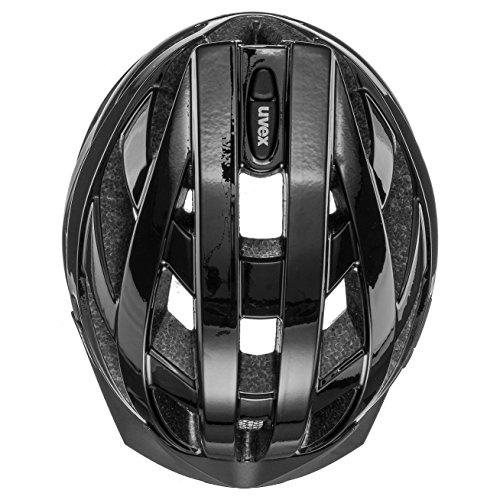 Uvex Unisex– Erwachsene, i-vo Fahrradhelm, black, 56-60 cm - 7