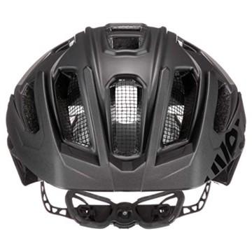 Uvex Unisex– Erwachsene, quatro Fahrradhelm, black mat, 52-57 cm - 3