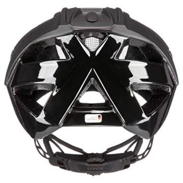 Uvex Unisex– Erwachsene, quatro Fahrradhelm, black mat, 52-57 cm - 4
