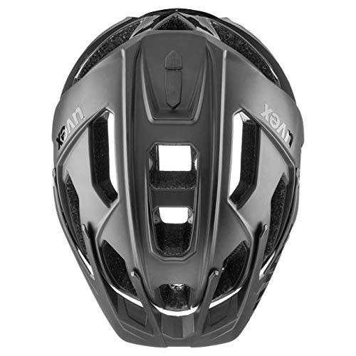 Uvex Unisex– Erwachsene, quatro Fahrradhelm, black mat, 52-57 cm - 5
