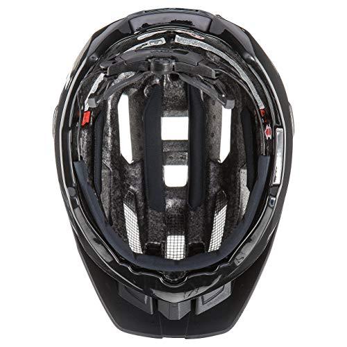 Uvex Unisex– Erwachsene, quatro Fahrradhelm, black mat, 52-57 cm - 6