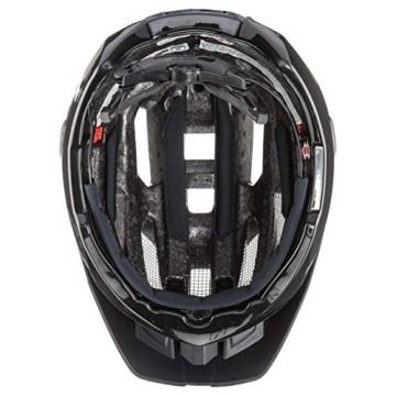 Uvex Unisex– Erwachsene, quatro Fahrradhelm, black mat, 52-57 cm - 8