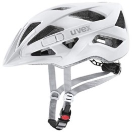 uvex Unisex– Erwachsene Touring cc Fahrradhelm, white mat, 52-57 cm - 1