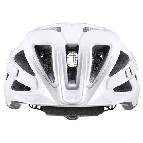 uvex Unisex– Erwachsene Touring cc Fahrradhelm, white mat, 52-57 cm - 2