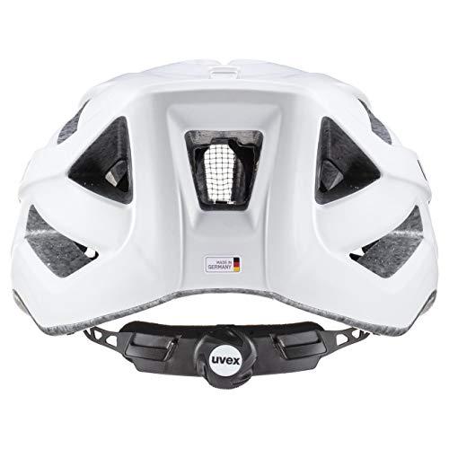 uvex Unisex– Erwachsene Touring cc Fahrradhelm, white mat, 52-57 cm - 4
