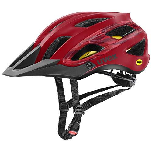 Uvex Unisex– Erwachsene, unbound Fahrradhelm, camo red black mat, 54-58 cm - 1